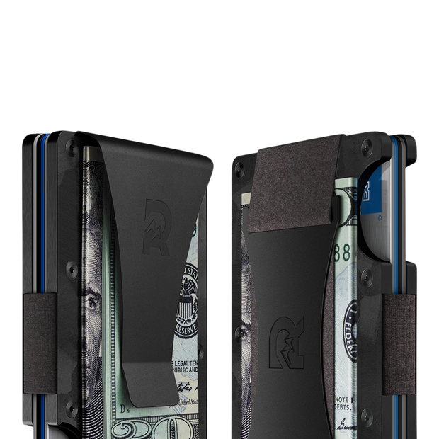 The Ridge Forged Carbon Cash Strap & Money Clip Wallet - Cash Strap & Money Clip