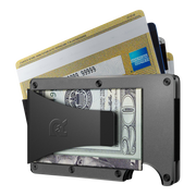 The Ridge Titanium Money Clip Wallet (Gunmetal) - Money Clip