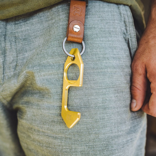 The Ridge The Hook Door Opener Multi-Tool - On Keychain
