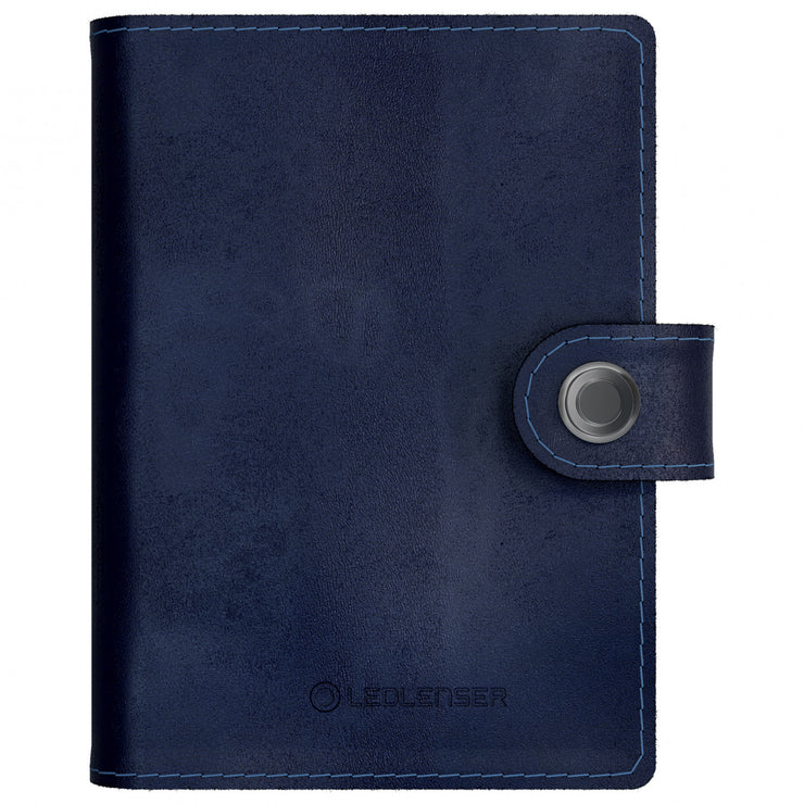 Ledlenser Lite Wallet (Classic Midnight Blue) - Front View