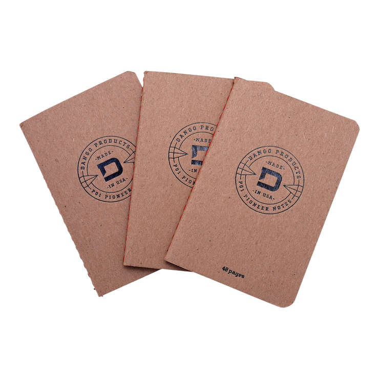 Dango P01 Notebooks (3 Pack) - Front View