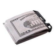 Dango Pocket Clip (Jet Black) - Cash Clip