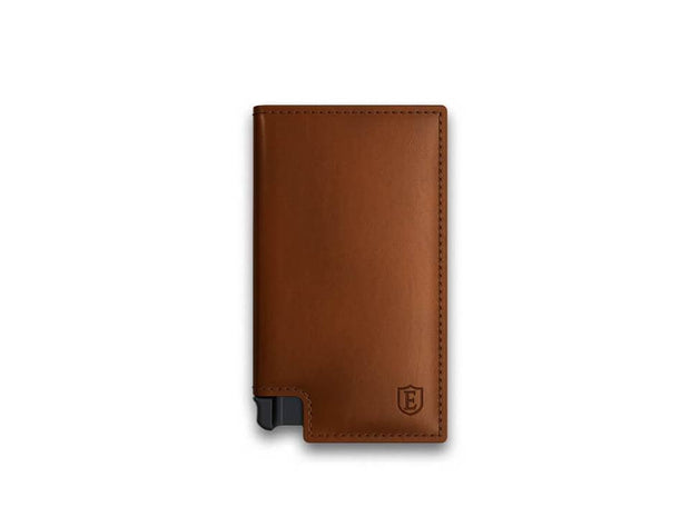 Ekster Parliament Vegan Leather Wallet (Sand) - Front View