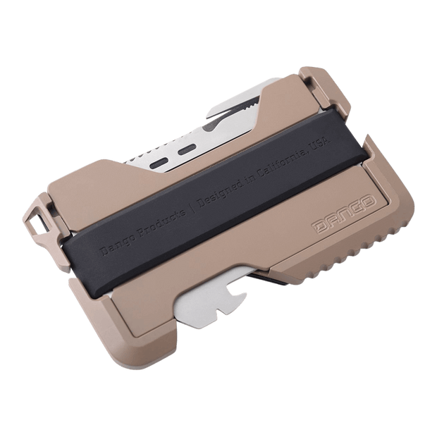 Dango T01 Tactical Spec-Ops Wallet (Desert Sand) - Cash Strap