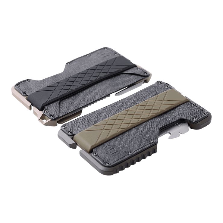 Dango T01 Tactical Spec-Ops Wallet (Desert Sand) - T01 Tactical Spec-Ops Front View