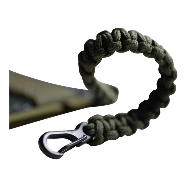 Dango Sling (OD Green) at Wallet Co - Cobra Weave 95 Paracord Lanyard