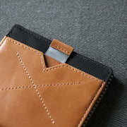 Loft of Cambie Flip Wolyt with RFID Shield (Tan/Black) - Pull Tab