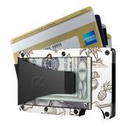 The Ridge Aluminium Money Clip Wallet (Tiki) - Money Clip