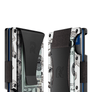 The Ridge Aluminium Cash Strap Wallet (Tiki) - Cash Strap & Money Clip