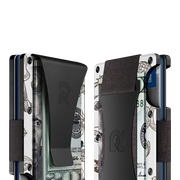 The Ridge Aluminium Money Clip Wallet (Tiki) - Cash Strap & Money Clip