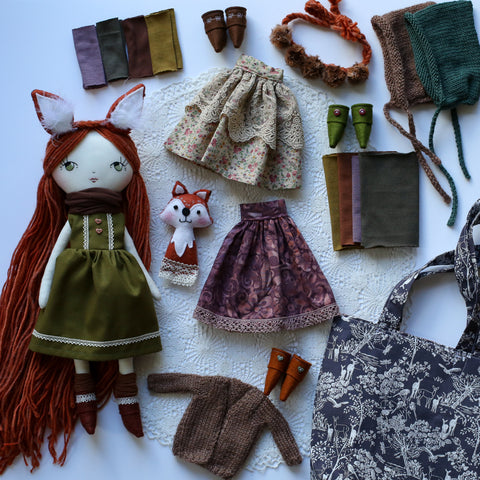 Custom handmade cloth heirloom dolls