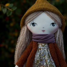 "Load image into Gallery viewer, Nona cardigan (10"" & 14"" dolls)"