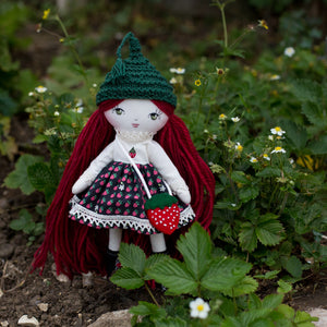"Strawberry sweetheart outfit - limited edition (10"" & 14"" dolls)"