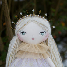 Load image into Gallery viewer, Celestial crown - crystals and stars (original dolls)