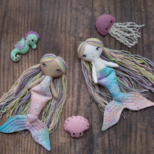 LIMITED EDITION PREORDER - Rainbow mermaids