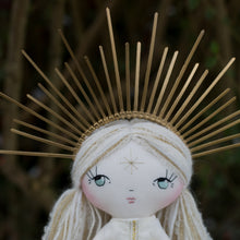Load image into Gallery viewer, Celestial crown - gold starburst (original dolls)