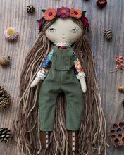 "Load image into Gallery viewer, Mix & match dungarees + pinafores (10"" & 14"" dolls)"