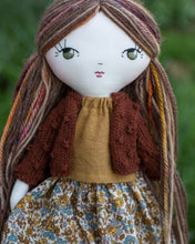"Load image into Gallery viewer, Popcorn cardigan (10"" & 14"" dolls)"