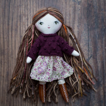 "Load image into Gallery viewer, Popcorn jumper / sweater (10"" & 14"" dolls)"