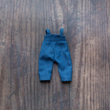 "Load image into Gallery viewer, Denim jumpsuit (10"" & 14"" dolls)"