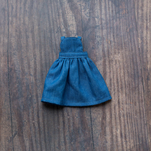 Denim pinafore (10