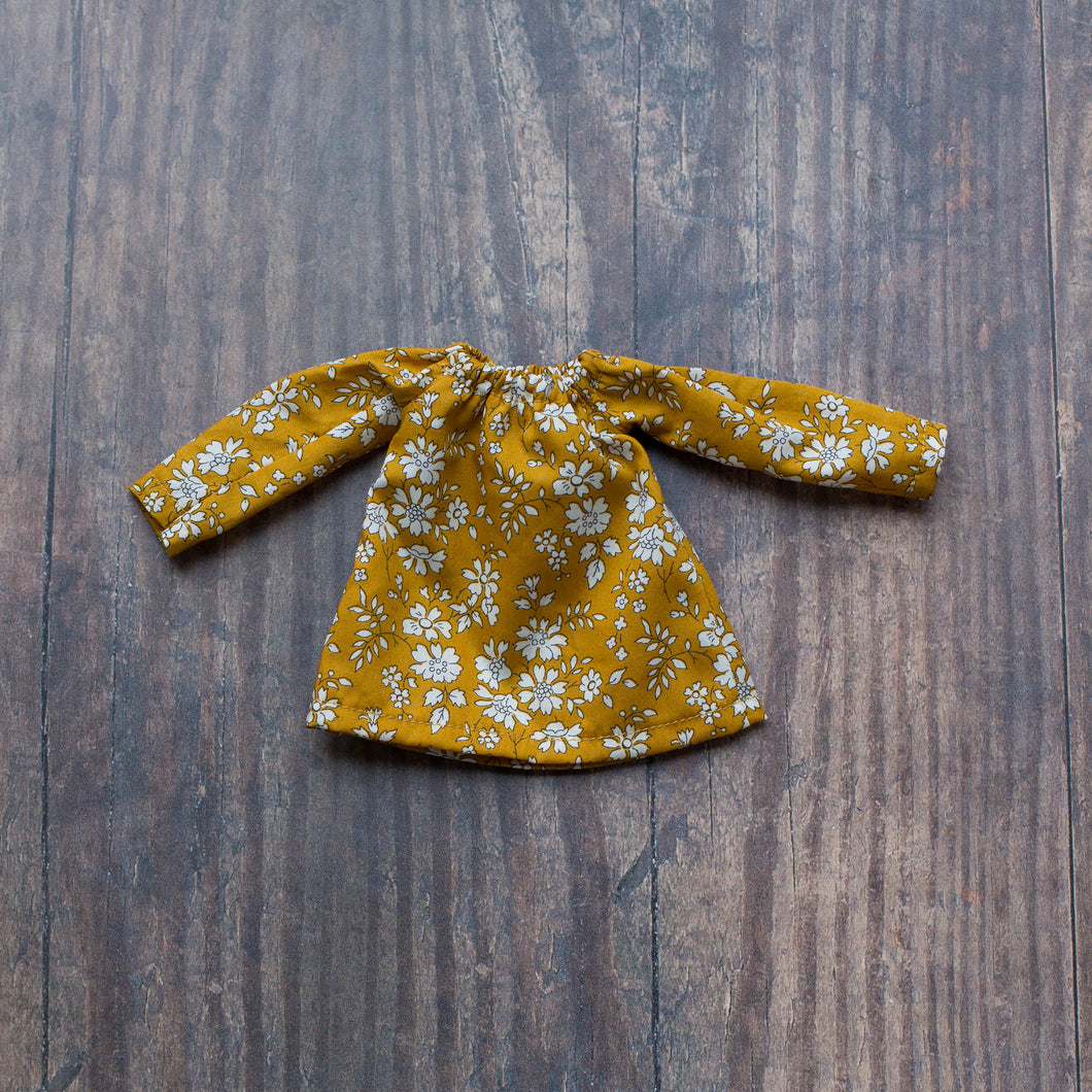 Liberty blouse - mustard
