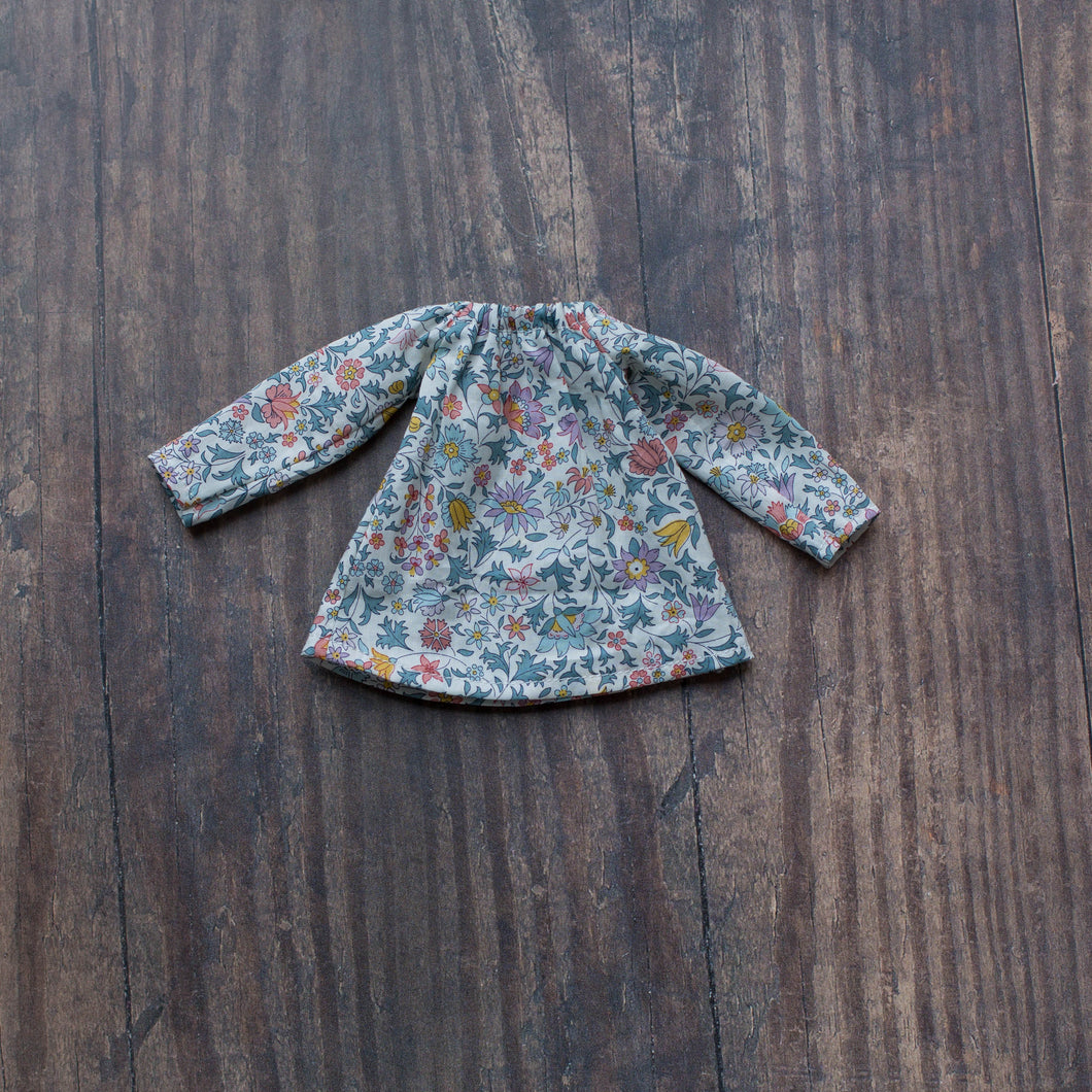 Liberty blouse - muted tones