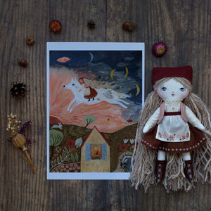 LIMITED EDITION PREORDER - Elen with matching print by Tijana Lukovic
