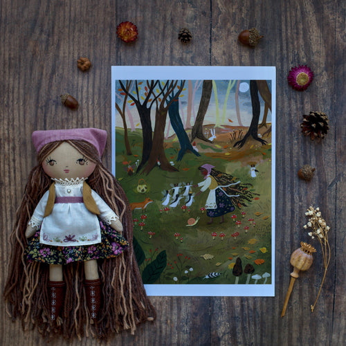 LIMITED EDITION PREORDER - Carys with matching print by Tijana Lukovic