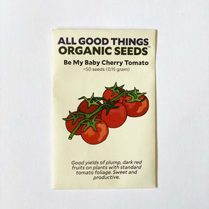 Plant Good Seed Be My Baby Cherry Tomato Seeds