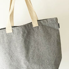 Load image into Gallery viewer, recycled canvas tote bag
