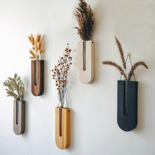 Load image into Gallery viewer, handmade hanging  wood vase