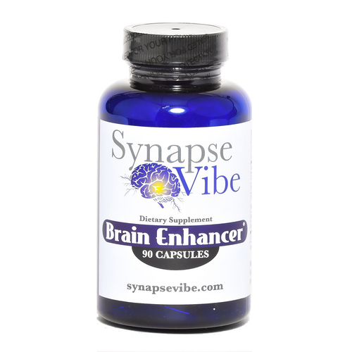 Brain Enhancer by Synapse Vibe- 5 Protocol Supplements in One - Organically Sourced