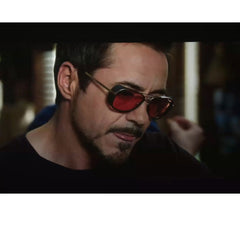 TONY STARK Curved Lenses Sunglasses