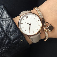 RHEA Leather Watch