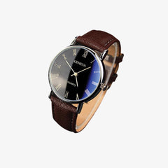 SILVIUS Leather Watch