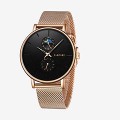 YARA Metallic Watch