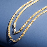 925 Sterling Franco Chain Necklace
