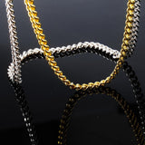 925 Sterling Cuban Necklace Chain