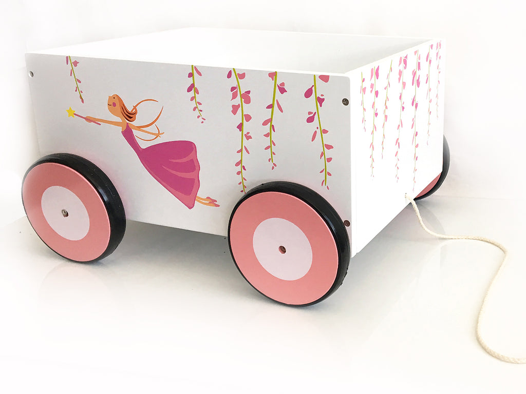 STORAGE CART TOY BOX - Pull Along