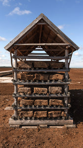 Peat from peatlands