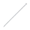 14K White Gold Diamond Bracelet 10 ct
