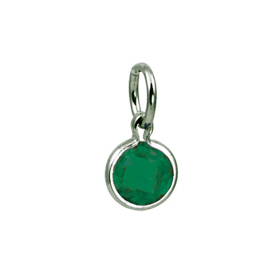 Mommy Chic Birthstone Charm