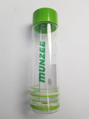 Munzee Water Bottle Clear