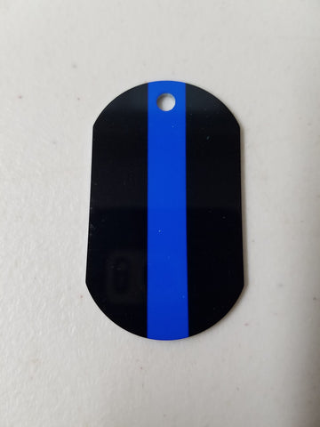 Gypsy Trackable Tag - Thin Blue Line