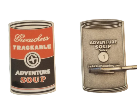 Adventure Soup Geocoin