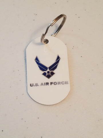 Personal Munzee Key Tag - Air Force
