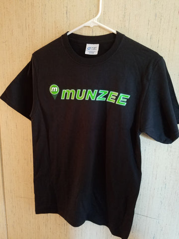 Munzee Shirt Black