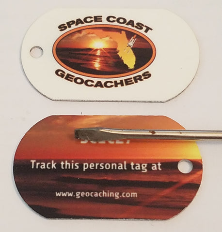 Space Coast Geocachers Personal Tag - Trackable