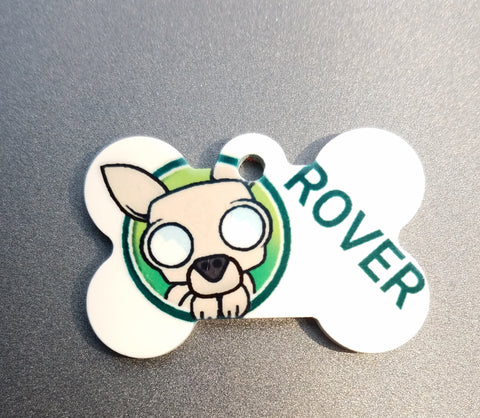 Rover Personal Munzee Tag